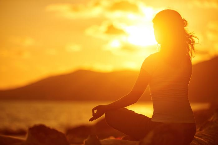 a-woman-meditating